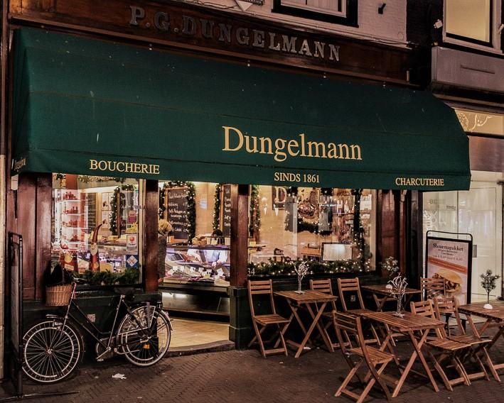 Slagerij Dungelmann, hoogstraat 34 Den Haag